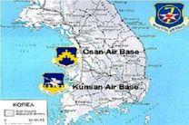 جنگنده های اف ۱۶ آمریکا در کره جنوبی مستقر شدند