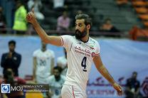 پخش زنده بازی والیبال ایران و تونس از شبکه سه سیما