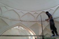 پایان فاز اول مرمت حمام خان بستک