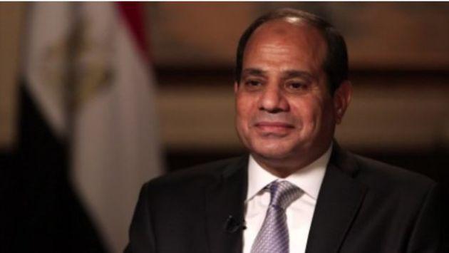 سیسی: برخی برادران با توهم کنترل اوضاع از تروریسم حمایت می کنند