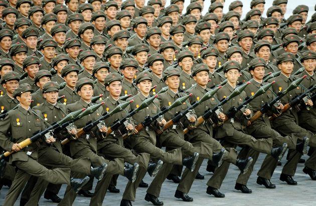 ۱۶۰ هزار نیروی چینی در مرز کره شمالی استقرار یافتند