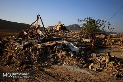 شرایط روستاهای دشت ذهاب پنج روز پس از زلزله