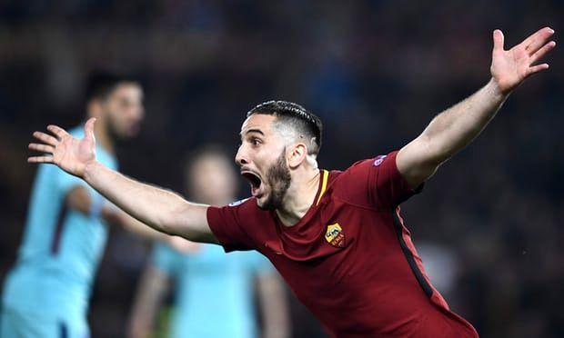 حذف ناباورانه بارسلونا/بازگشت باورنکردنی رم به لیگ قهرمانان اروپا