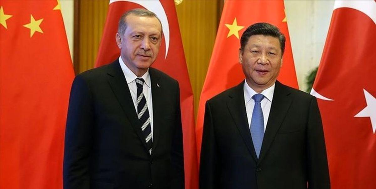 تاکید رؤسای جمهور ترکیه و چین بر ارتقای روابط دوجانبه