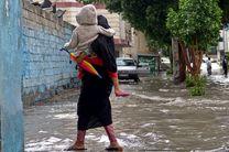 بارش باران در مناطق شرقی هرمزگان در روزهای چهارشنبه و پنجشنبه