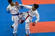 هفت مدال رنگارنگ نصیب تیم کاراته استان همدان شد