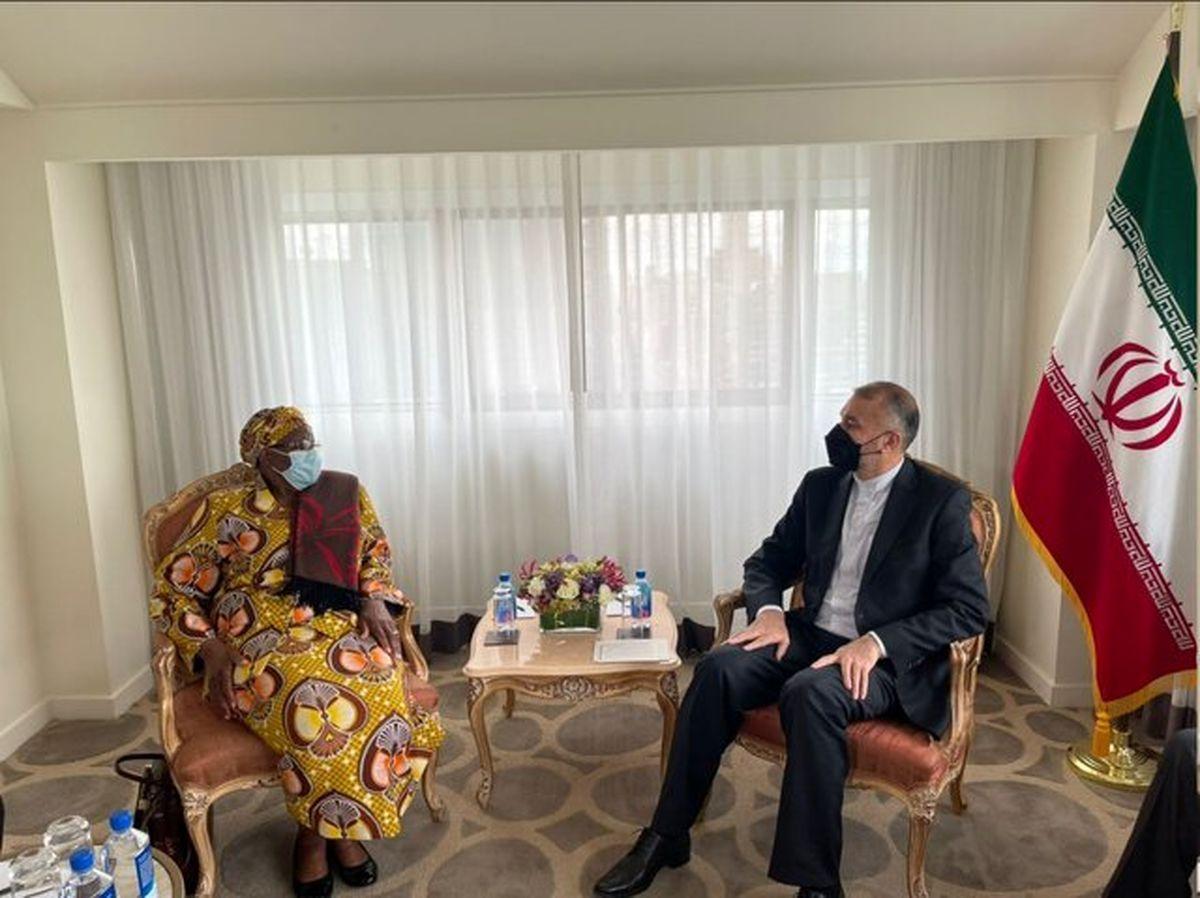 امیرعبداللهیان از وزیر خارجه «نامبیا» برای سفر به ایران دعوت کرد