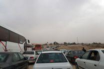 آخرین وضعیت ترافیکی محورهای مرزی ایران و عراق/ ترافیک نیمهسنگین در مسیرهای برگشت زائران