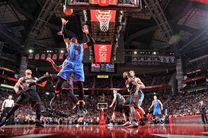 پیروزی سخت گلدن استیت در فینال کنفرانس غرب لیگ NBA