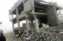 قلع و قمع 3 بنای غیرمجاز در اراضی کشاورزی نوشهر