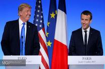 کاخ سفید: ترامپ درباره ایران با ماکرون گفتوگو کرد