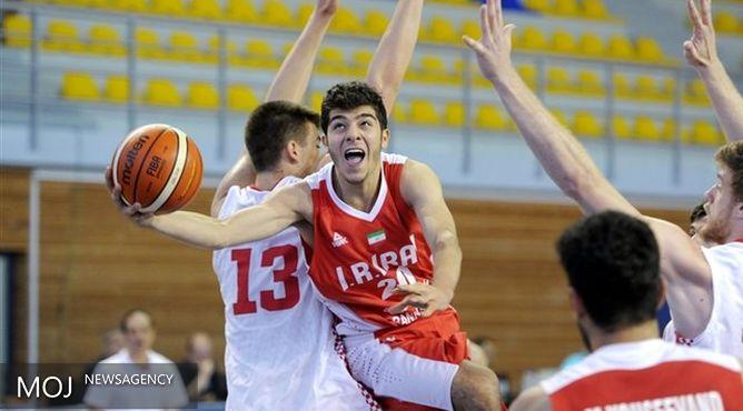 شکست تیم ملی بسکتبال جوانان ایران از ژاپن