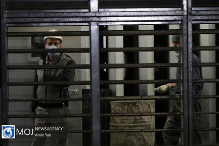 بازدید اصحاب رسانه از ایستگاه مترو برج میلاد