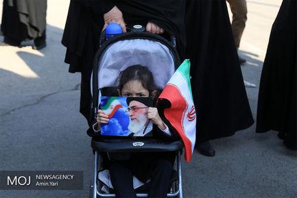راهپیمایی+نمازگزاران+تهرانی+در+محکومیت+حوادث+روزهای+اخیر