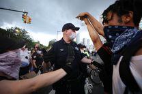 حمایت سخنگوی کاخ سفید از اقدام پلیس آمریکا علیه معترضان
