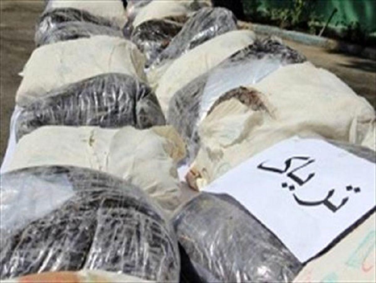 429 کیلو تریاک از کامیون حامل پیاز کشف شد