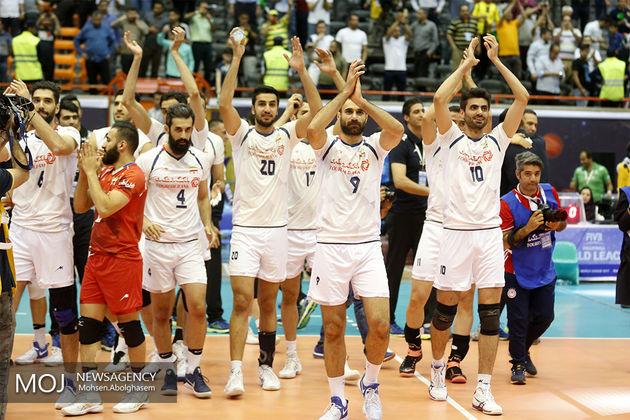 صعود ایران به رده هفتم لیگ جهانی/ صدرنشینی فرانسه و باخت دوباره ایتالیا و لهستان