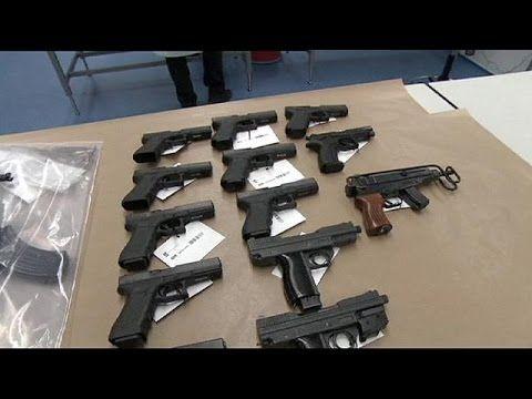 کشف و ضبط 102 قبضه اسلحه کلت کمری