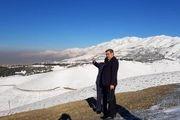 حناچی از پروژه کمربند سبز تهران در تلو بازدید کرد
