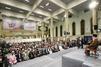 دیدار شرکتکنندگان در اجلاس «محبان اهلبیت(ع) و مسئله تکفیریها» با رهبر انقلاب