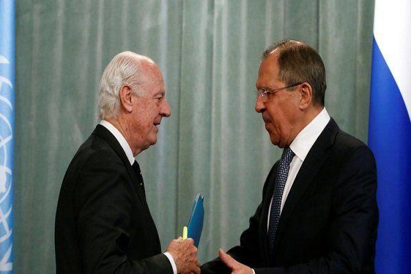 لاوروف بر تثبیت پیشرفت حاصل در مذاکرات سوریه تاکید کرد