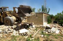 تخریب ۶ ساخت و ساز غیرمجاز در اراضی کشاورزی فریدونشهر