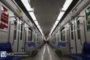 فاصله حرکت قطارهای خط ۵ مترو روز جمعه افزایش می یابد
