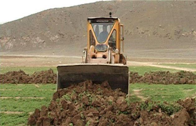 رفع تصرف اراضی میلیاردی در فریدن