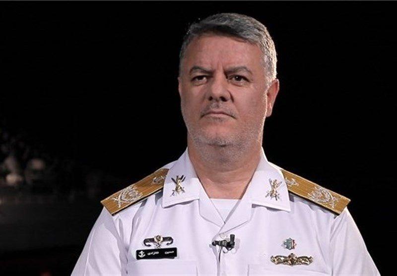 امیر خانزادی از منطقه سوم نیروی دریایی ارتش در کنارک بازدید کرد