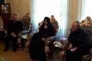 سرلشکر سلیمانی با خانواده شهید حججی دیدار کرد