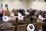 دیدار مسئولان دفتر تبلیغات اسلامی با مقام معظم رهبری