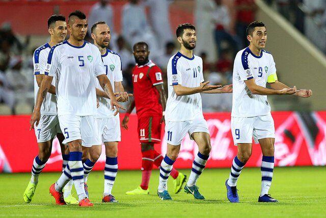 نتیجه بازی ازبکستان و عمان/ پیروزی ازبک ها مقابل عمان