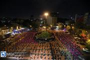 عزاداری شب پنجم ماه محرم در میدان فلسطین