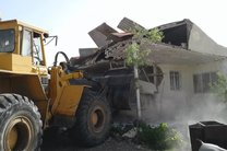 ۲۰واحد ساخت و ساز غیرمجاز در رباط کریم تخریب شد