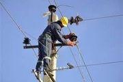 فوت سیم بان شرکت برق در جاسک