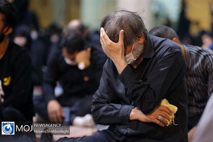 عزاداری شب هشتم ماه محرم در جوار کریمه اهل بیت (س)