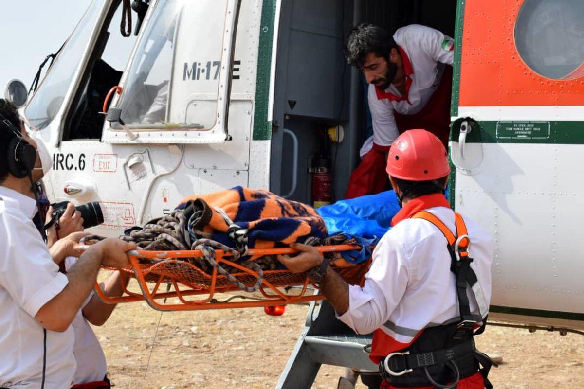 امدادرسانی هلال احمر به ۱۲۳ مصدوم در سه روز گذشته