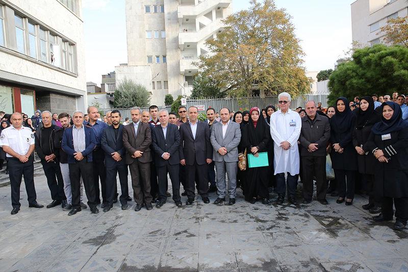 خدمات رسانی کاروان درمانی بانک ملی ایران به زائران اربعین