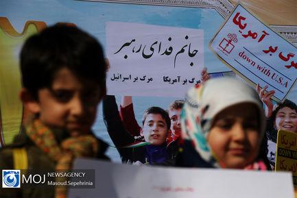 راهپیمایی روز ۱۳ آبان ۱۳۹۸ در تبریز