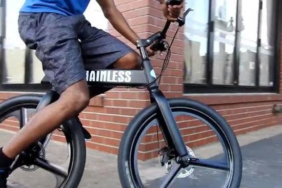 با دوچرخه بدون زنجیر راحت رکاب بزنید