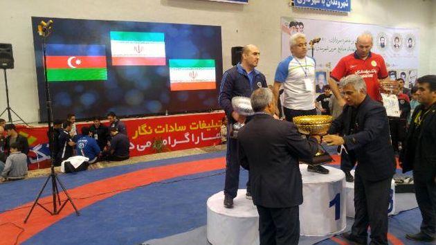 بهشهر قهرمان پانزدهمین دوره مسابقات کشتی آزاد جام شهید هاشمی نژاد شد
