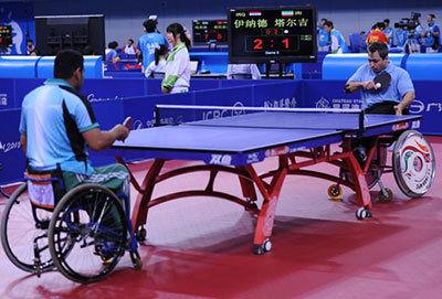 تهران قهرمان تنیس روی میز جانبازان و معلولین شد