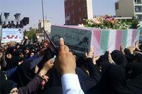 پیکر مطهر شهید گمنام امروز در کرمانشاه تشییع و تدفین شد