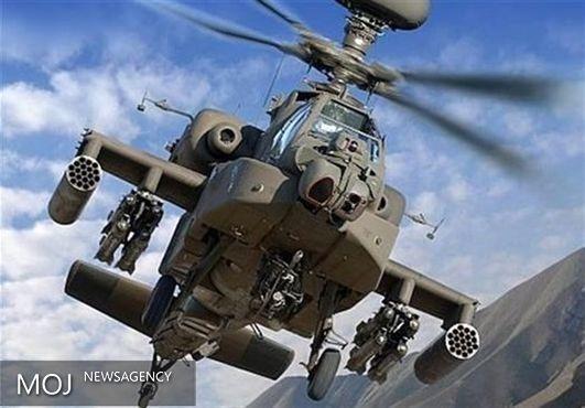 بالگرد آپاچی عربستان به دست ارتش یمن سرنگون شد