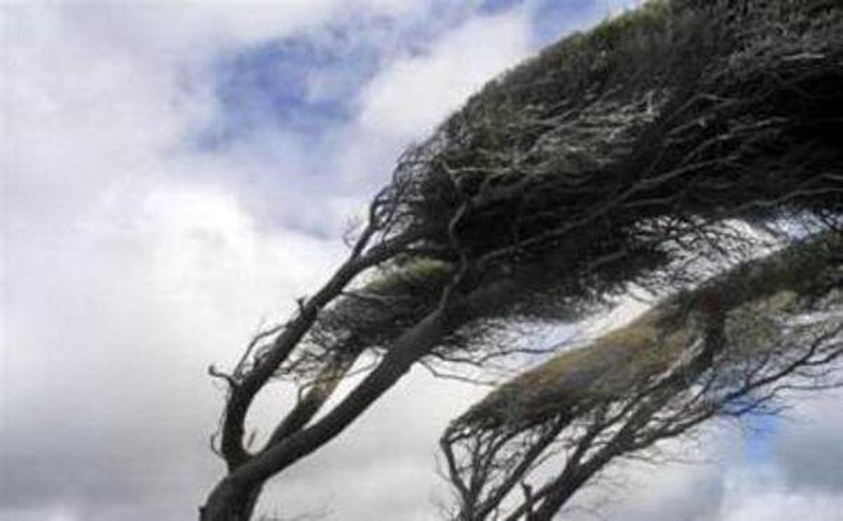 تشدید وزش باد از عصر امروز در استان اردبیل