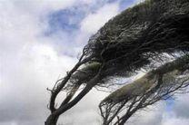 وزش باد شدید اردبیل را در می نوردد