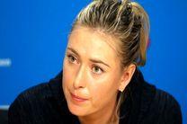شاراپووا از مسابقههای سینسیناتی هم کنارهگیری کرد