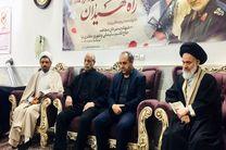 جمعی از مسئولان استانی با خانواده شهید شهروز مظفرینیا دیدار کردند