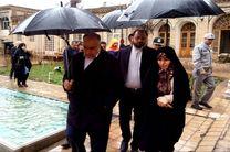بازدید معاون رئیسجمهور از خانه تاریخی آیتالله بروجردی