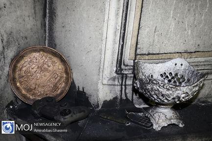 شوهر خشمگین خود را در خانه اش سوزاند